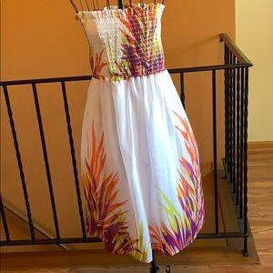 Summer Strapless Dress/Skirt